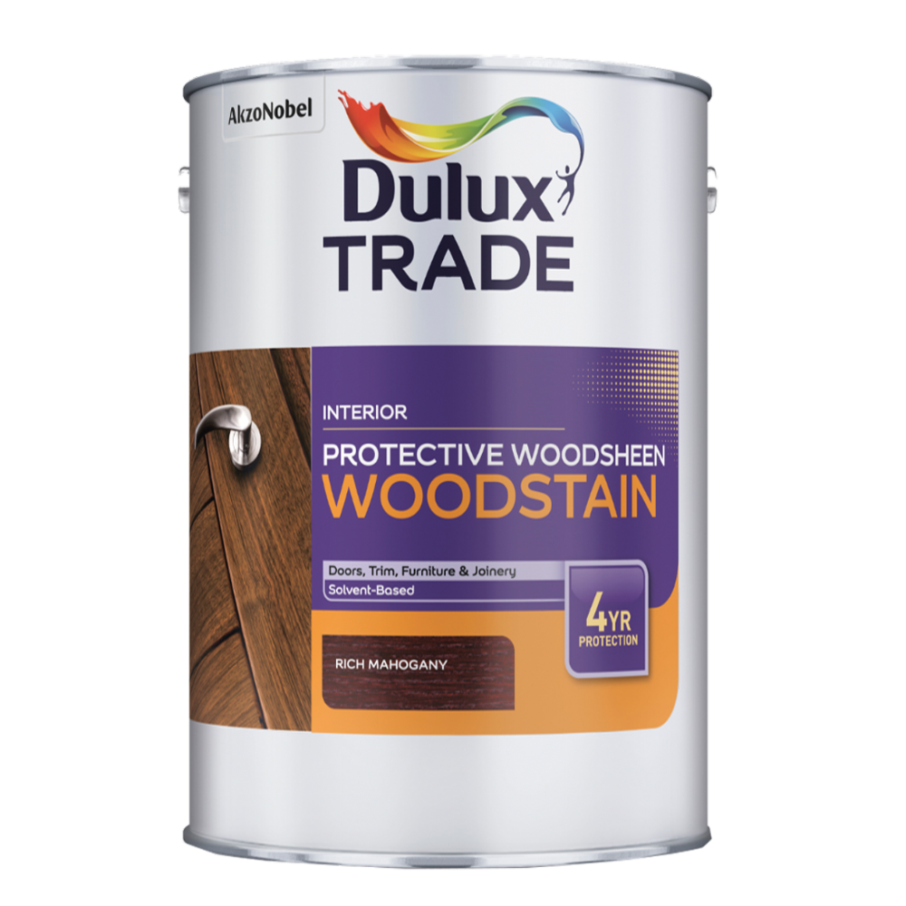 Dulux Trade Protective Woodsheen Woodstain Custom Mixed Colours